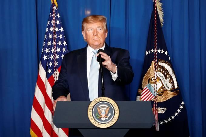 Trump adia pronunciamento sobre ataques do Irã