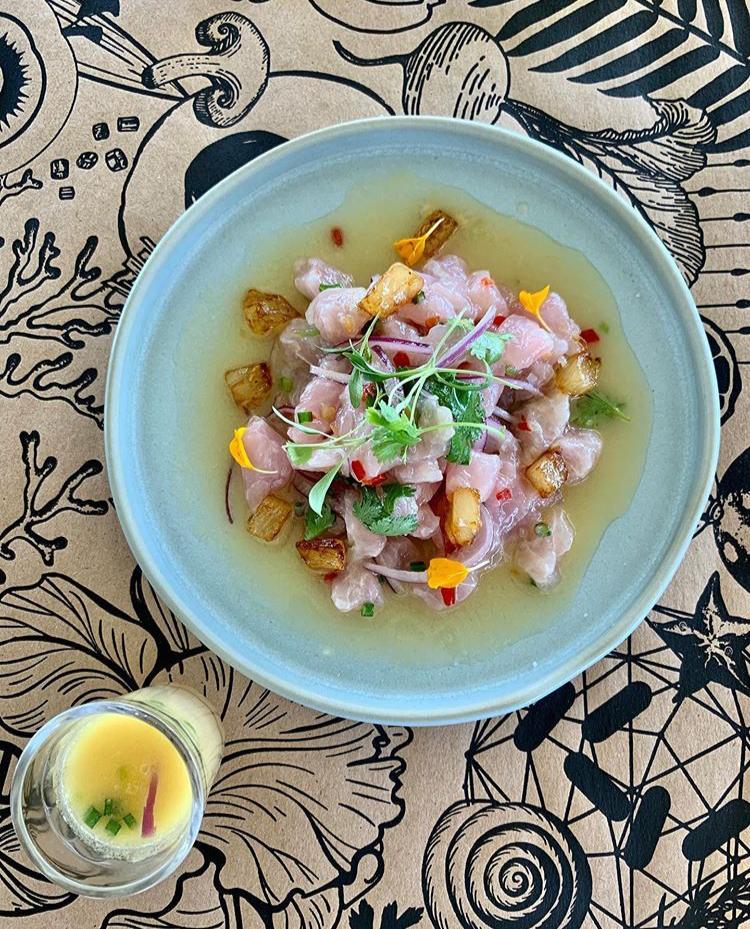 Fazenda Culinária traz para este verão Ceviche de Pirarucu com Tucupi e abacaxi