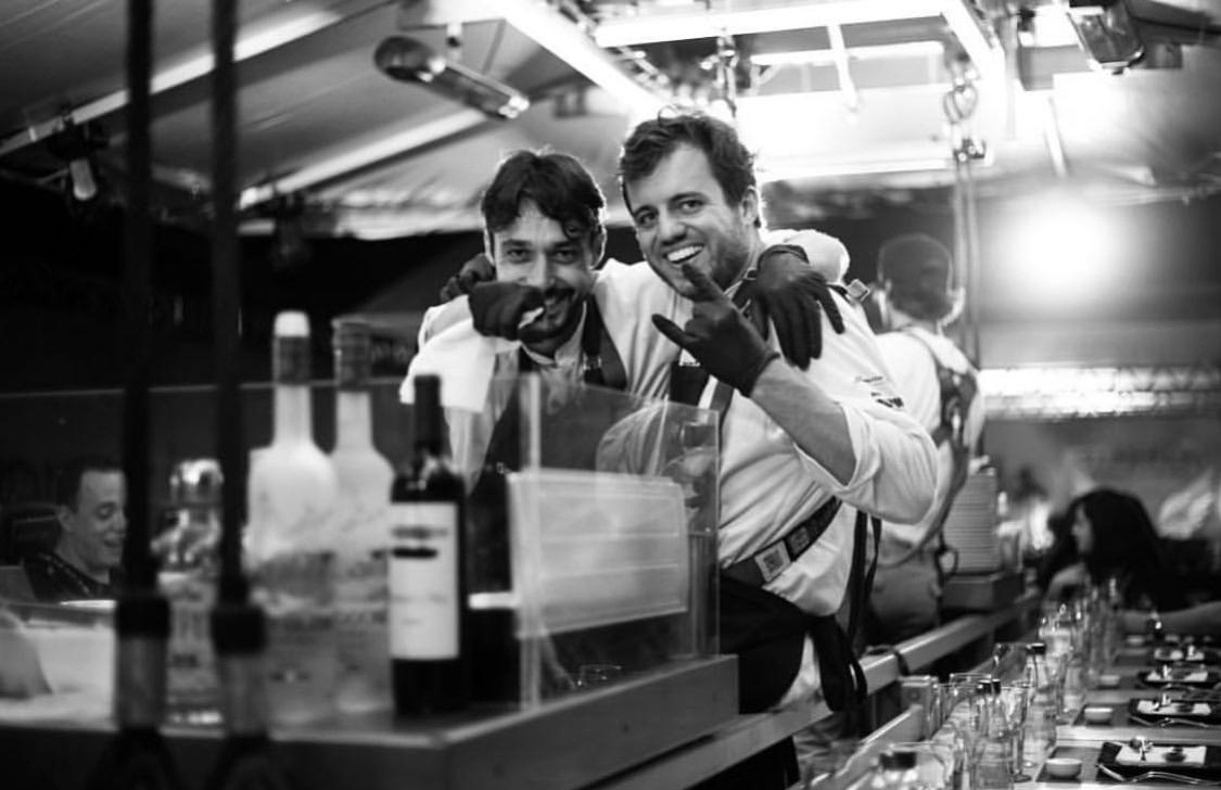 Já conhece nossos chefs residentes do Dinner in the Sky?