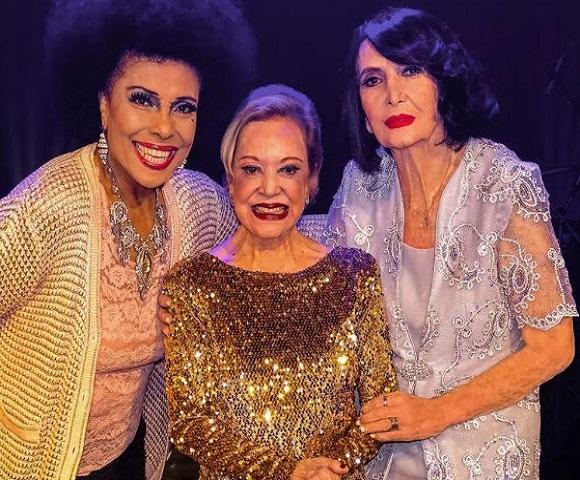 Divas do Sambalanço Sesc São Paulo Eliana, Claudette e Doris