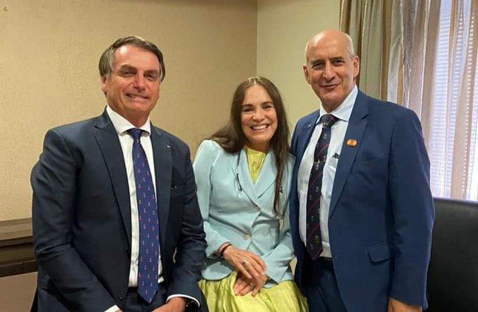 Regina Duarte disse sim aceita passar por período de testes na secretaria de Cultura a convite do Presidente Bolsonaro