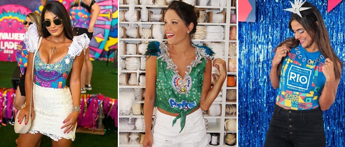 Camisetas customizadas para Carnaval 2020