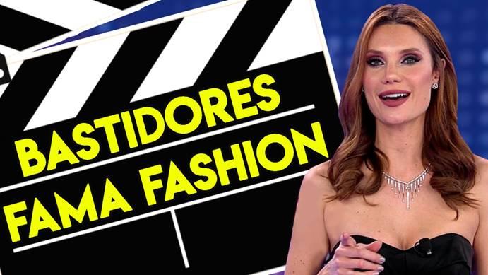 Júlia Pereira mostra bastidores do Fama Fashion