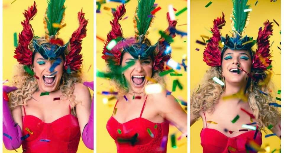 Cores vibrantes dão o tom carnaval