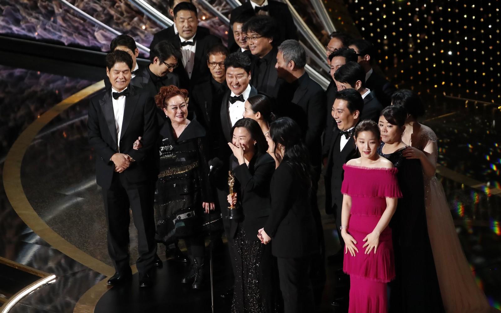 Parasita grande vencedor Oscar 2020