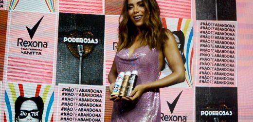Rexona by Anitta lança com aulão dança