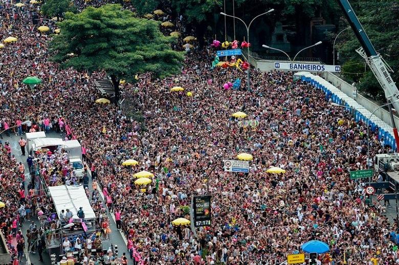 São Paulo realiza maior carnaval de sua história 2020