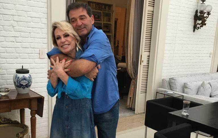Ana Maria Braga e Johnny Lucet casaram