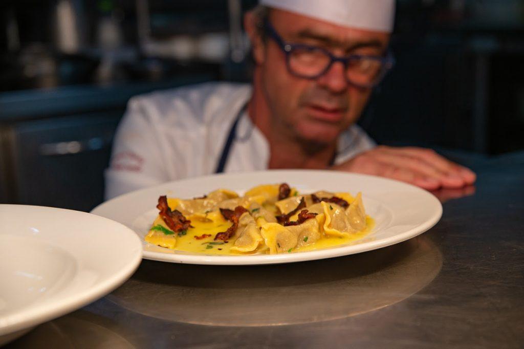 Almoço para Accademia Italiana della Cucina