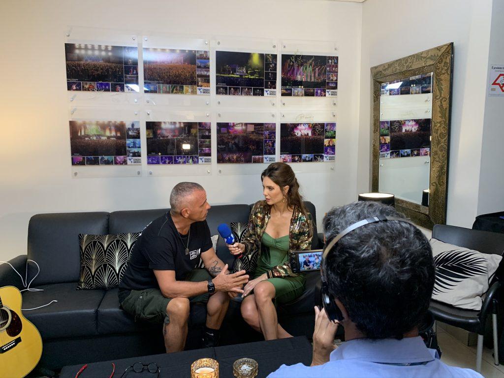 Show Cantor Eros Ramazzotti no Brasil