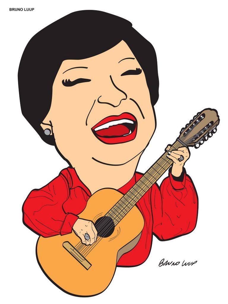 Inezita Barroso será homenageada quando faria 95 anos