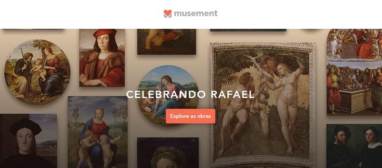 Museu virtual reúne todas as obras do pintor Rafaello