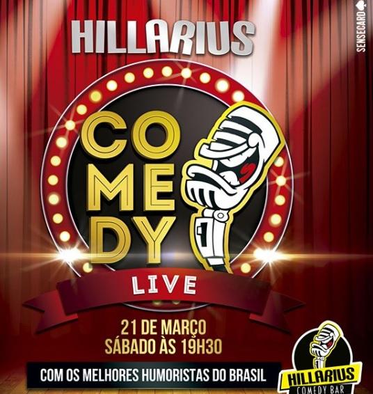 Hillarius Comedy só que desta vez em casa