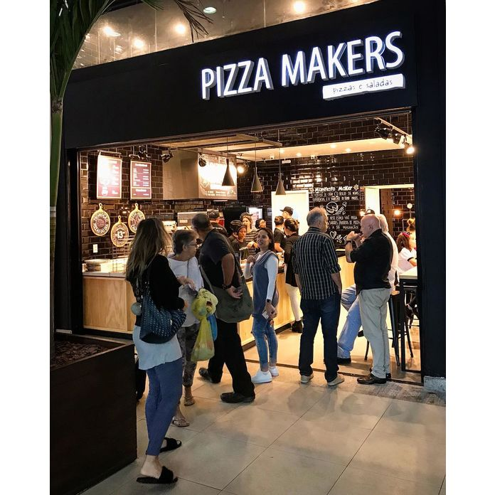 Pizza Makers inaugura  Shopping Downtown