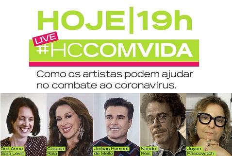 Claudia Raia e Nando Reis live HC