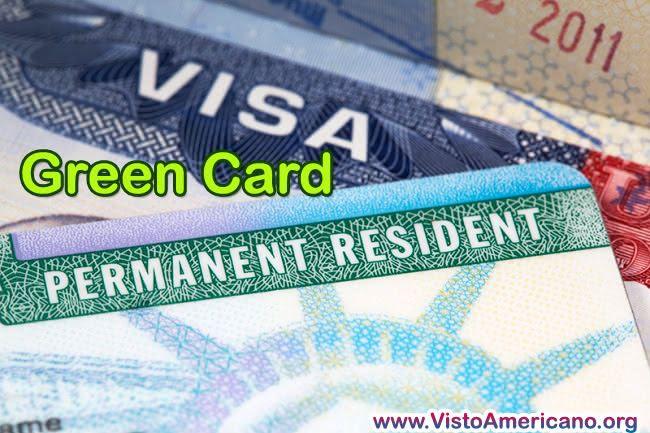 Suspensão do green card emitido USA