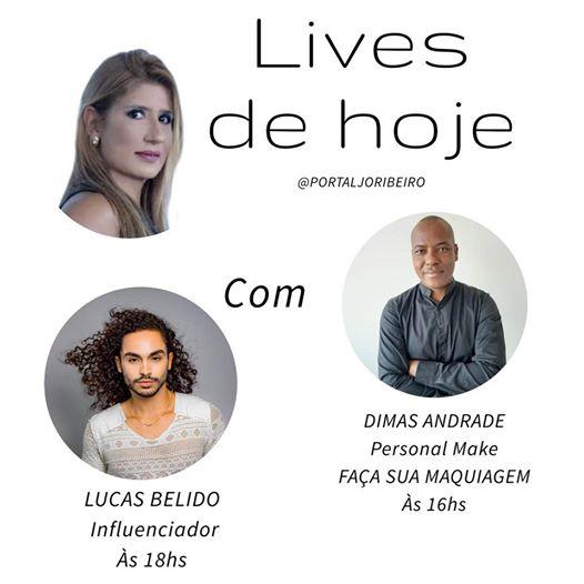 Lives no @portaljoribeiro dia 14/05