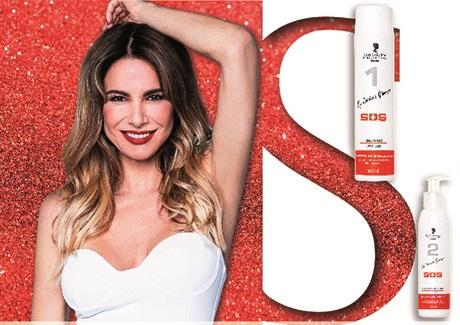 Luciana Gimenez faz parceria marca cosméticos