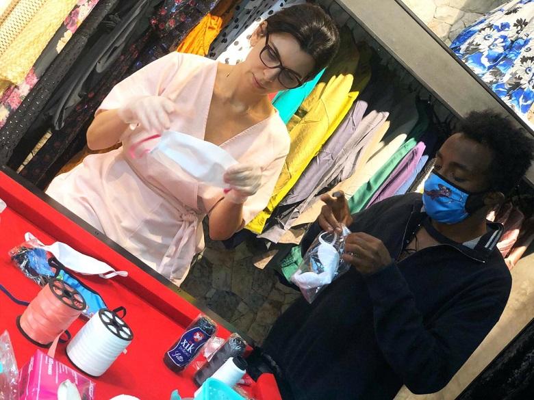 Sarah Mansur desiste marca luxuosa lingerie