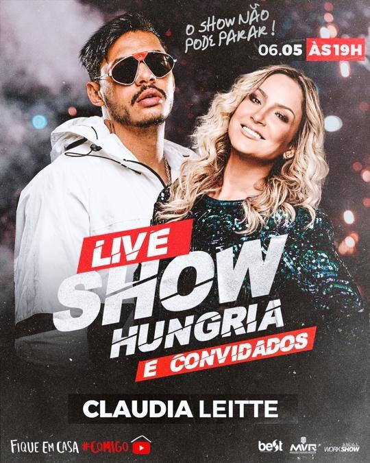 Hungria Hip Hop fará live dia 06/05