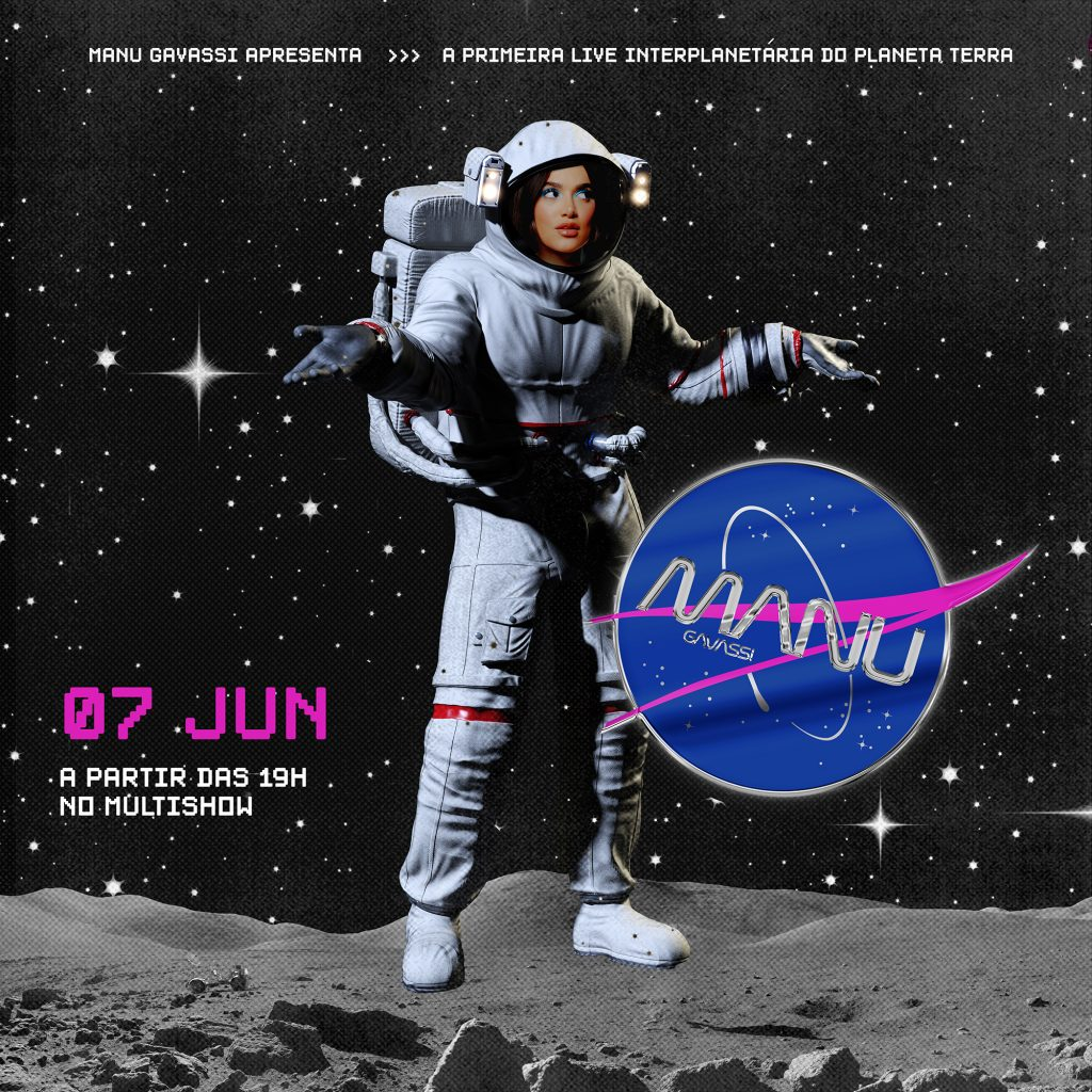 "Manu Gavassi fará live ""Interplanetária"" neste domingo (7)"