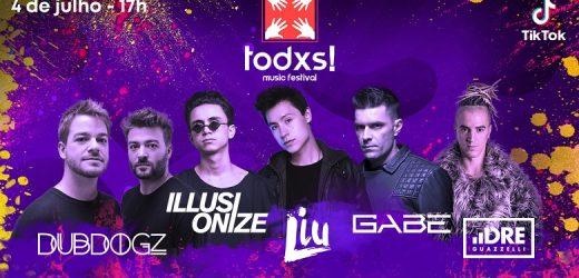 Todxs|Maior Festival Online de Música Eletrônica será TikTok