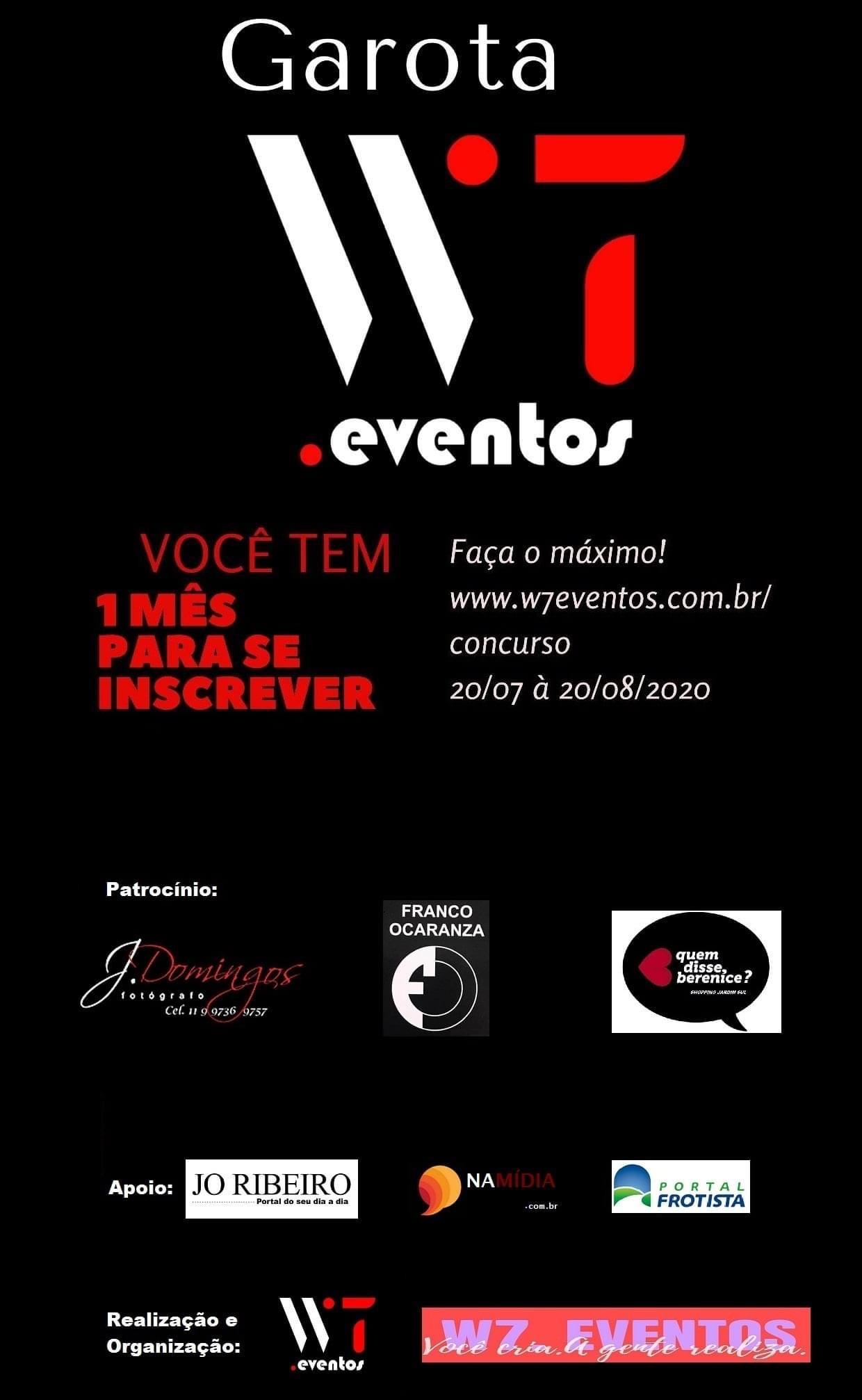 W7 Eventos promove concurso de beleza