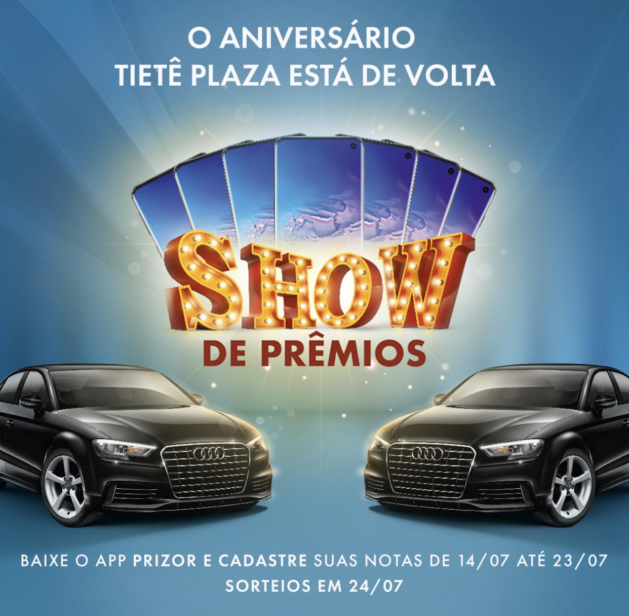 Tietê Plaza Shopping retoma promoção especial de aniversário