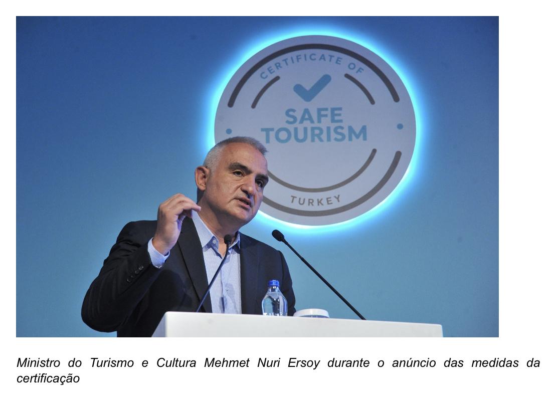 Turquia oferece seguro de saúde para turistas partir julho