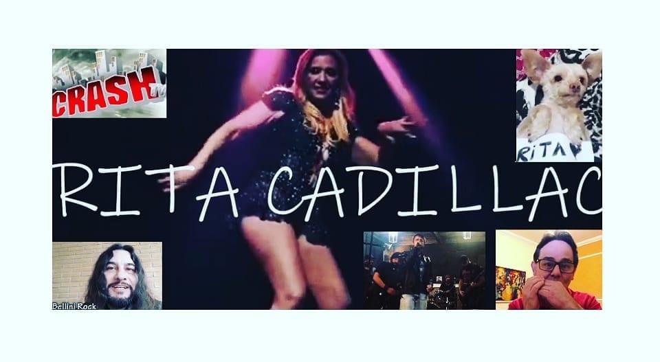 Rita Cadillac Ganha Bela Homenagem de Artistas do Rock