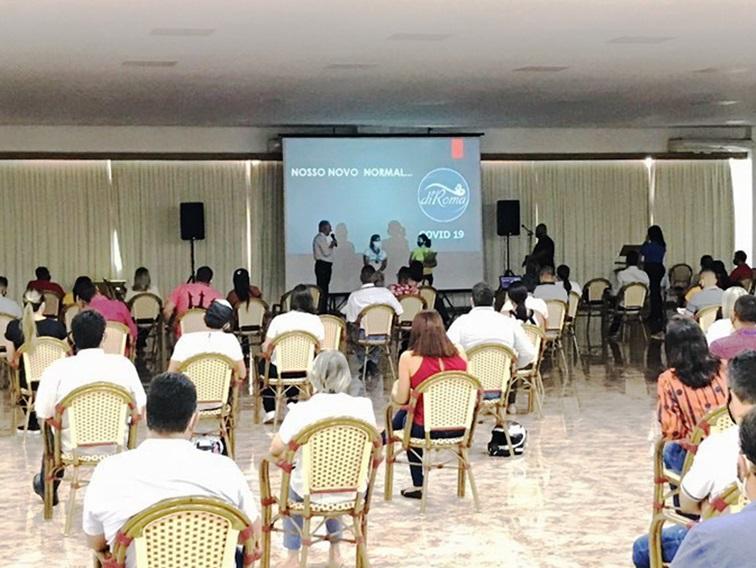 Grupo diRoma confirma datas para reabertura de empreendimentos