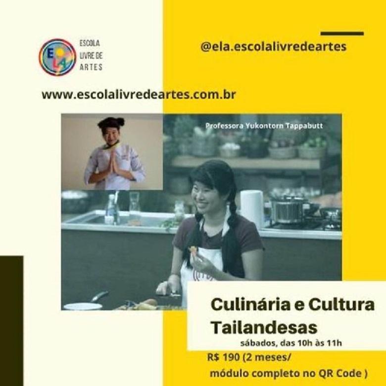 Curso de Culinária Tailandesa com a  ex-Masterchef Yuko