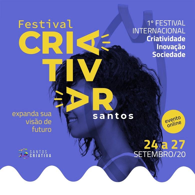 Santos sediará o CriAtivar