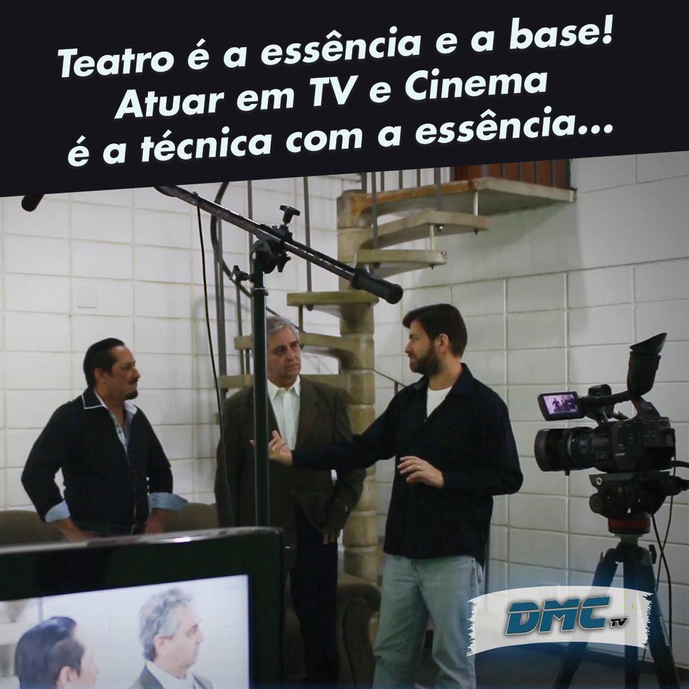 Flávio Guedes oferece técnicas de atuação para TV e Cinema