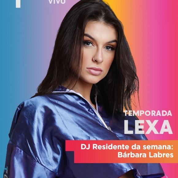 Bárbara Labres é a DJ TVZ Temporada