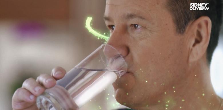 Dunga estrela nova campanha da marca de vitaminas Sidney Oliveira