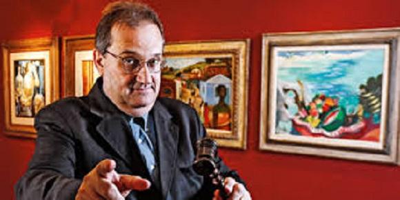 James Lisboa leiloa obras de arte do ex-banqueiro Edemar Cid Ferreira