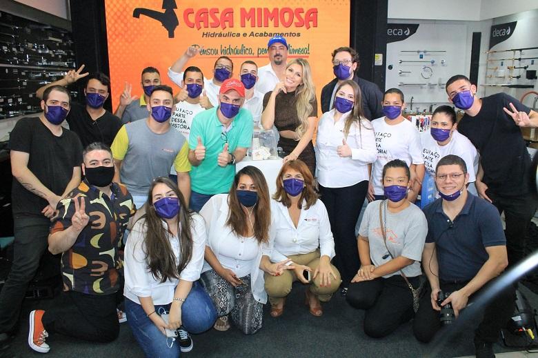 Casa Mimosa comemora 50 anos