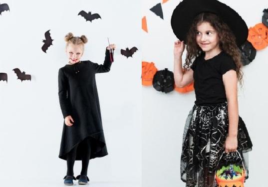 Dia das bruxas: como transformar roupas infantis em fantasia