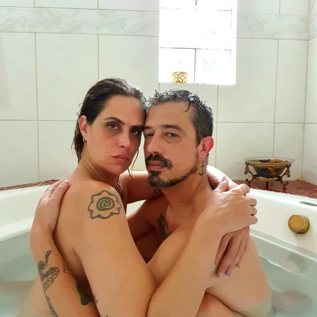 Aritana Maroni e Paulo curtem fim de semana romântico