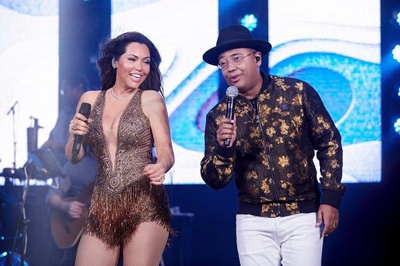 Karinah estreia parceria Dudu Nobre