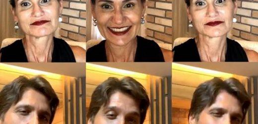 Revelação de Leo Chaves a Faa Morena em live