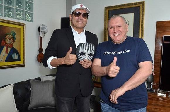 Sidney Oliveira Ultrafarma recebe Mister M