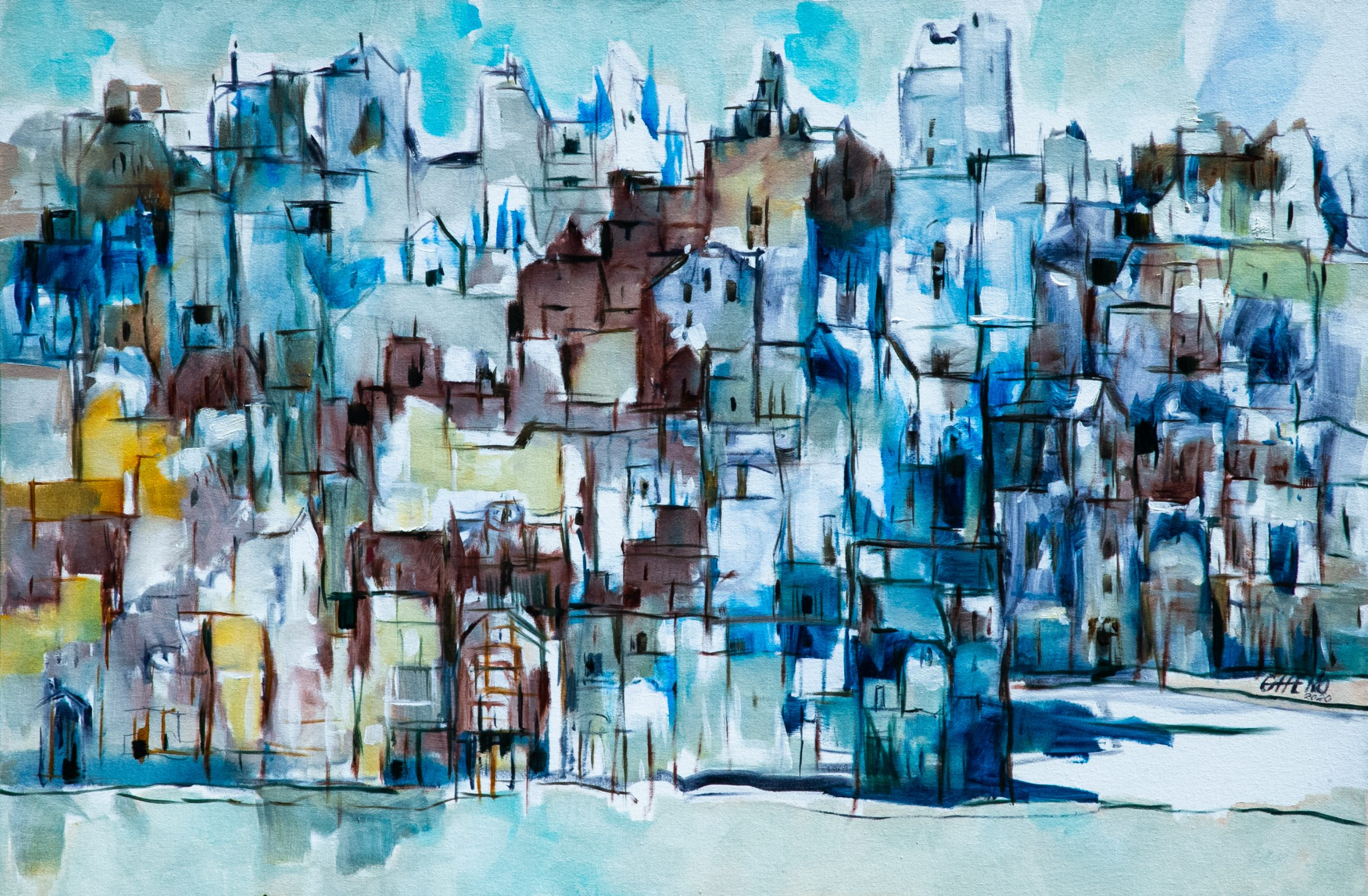 """Exposição """"Arabescos"""" de arte na sua casa"""