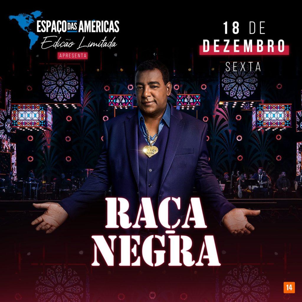 Mega-show do Raça Negra dia 18
