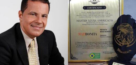 A Revista MaisBonita recebe o Prêmio Master Aguia Americana – Melhores do Ano 2020