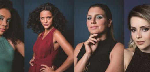 Sandy, Thelma, Thainá Duarte e Maya Gabeira estrelam campanha de nova máscara de cílios