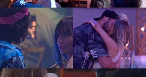 Festa BBB21: Rola beijo de Carla Diaz e Arthur nesta última quarta feira dia 10/02