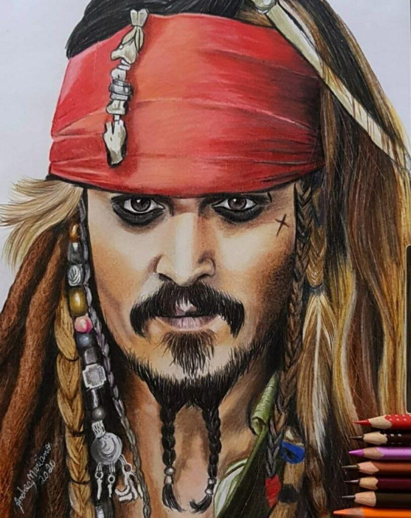 Conheça os desenhos realistas de celebridades nacionais e internacionais