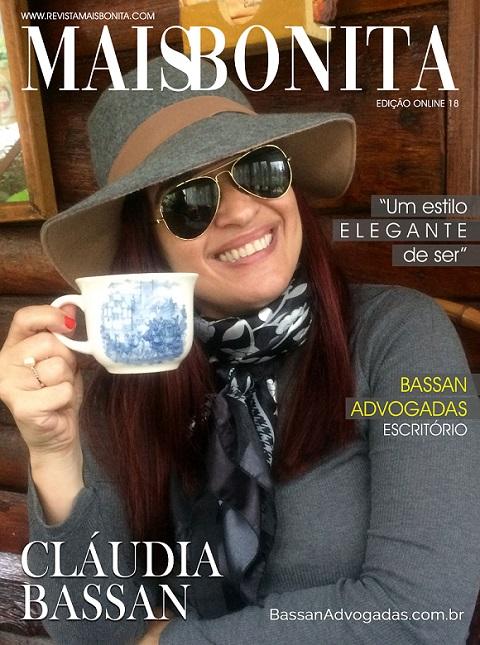 Revista MaisBonita: Dra. Claudia Bassan na capa de Março 2021